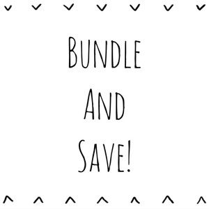 Other - Bundle and Save! Free shipping on orders over $75